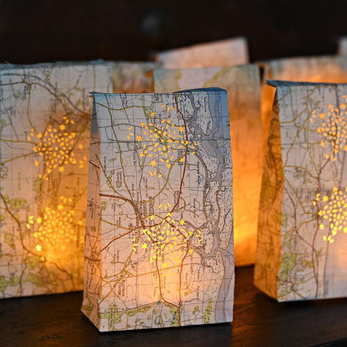 Repurposed Roadmap Luminary Bags