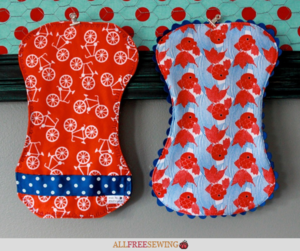 World's Best Burp Cloth Tutorial