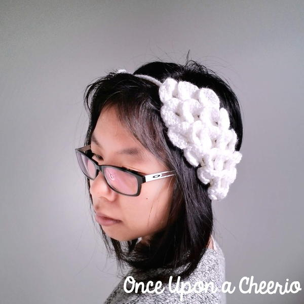 Odette Swan Lake Ear Warmers