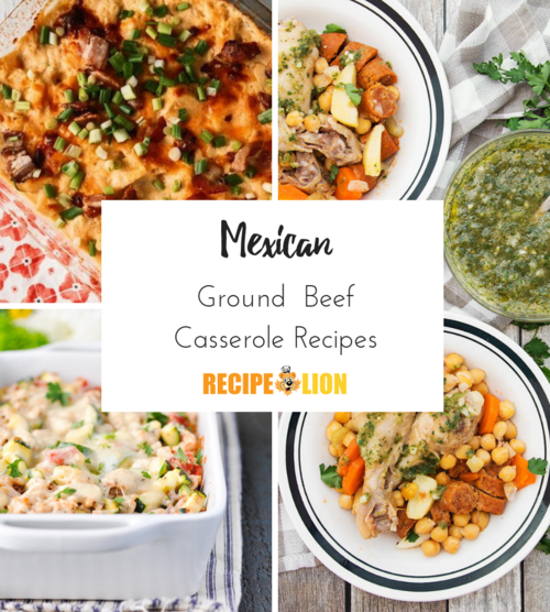 Mexican Ground Beef Casserole Recipes
