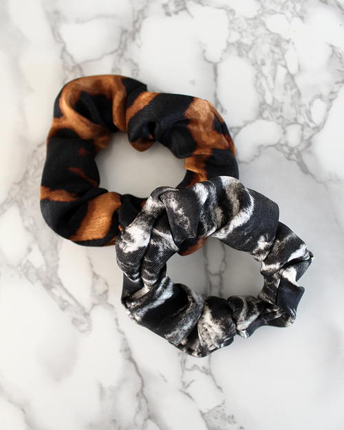 Easy DIY Silk Scrunchie W/ Free Printable Pattern