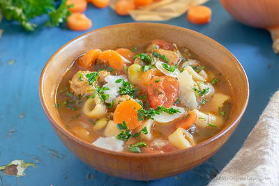 Italian Sausage Soup - Southern Style
