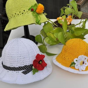 Lacy Garden Party Hats