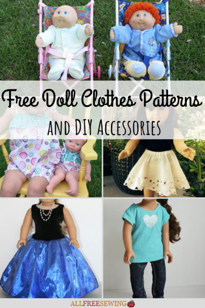 46 Free Doll Clothes Patterns and DIY Accessories  3ff4acece