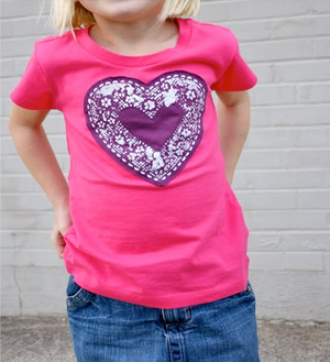 Painted Heart Shirt