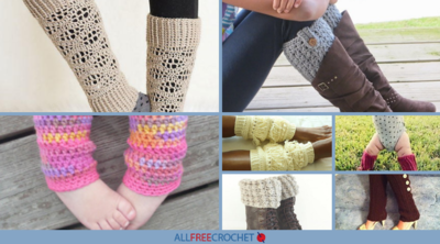 22+ Trendy Crochet Patterns for Leg Warmers