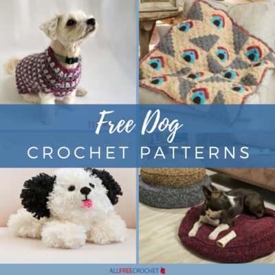 29 Free Dog Crochet Patterns | AllFreeCrochet com