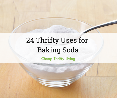 Thrifty Uses for Baking Soda