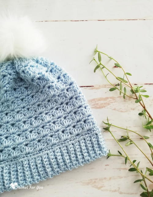Girls Winter Pompom Hat