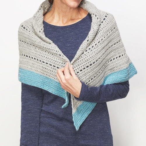 Winter Shawl Crochet Pattern