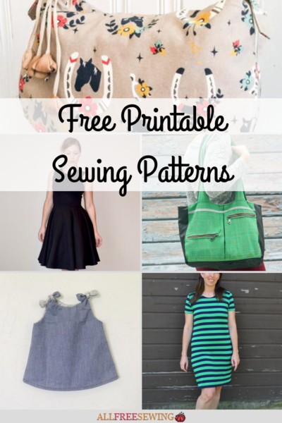 87ed9d9f31ab5 45 Free Printable Sewing Patterns. Don't break your ...