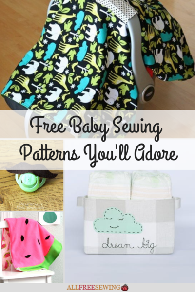 dbed3503968 75+ Free Baby Sewing Patterns You ll Adore