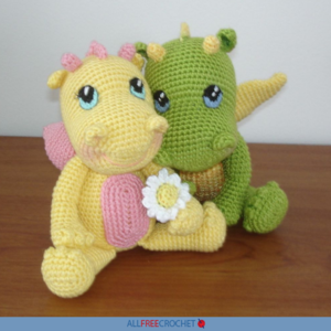 Crochet Amigurumi Dragon (Free Pattern)