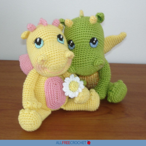 Crochet Amigurumi Dragon Free Pattern