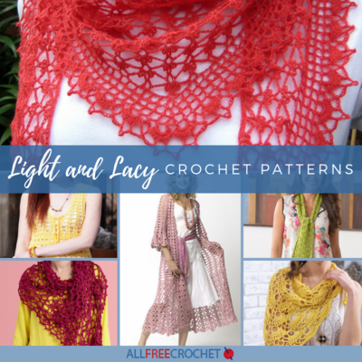 24 Light and Lacy Crochet Patterns