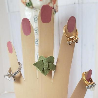 Easy Scrap Leather Ring