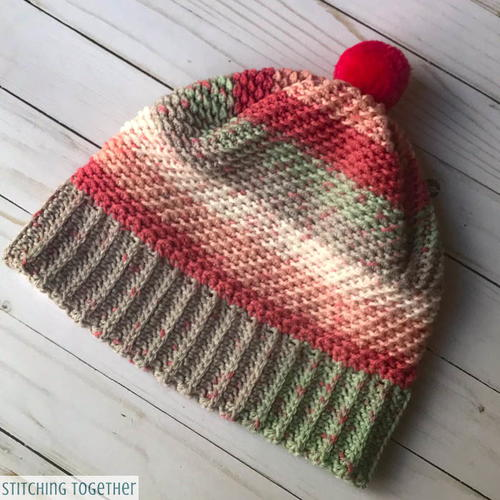 Over the Ridge Crochet Hat with Brim