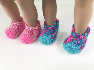 "18"" Doll Slippers"