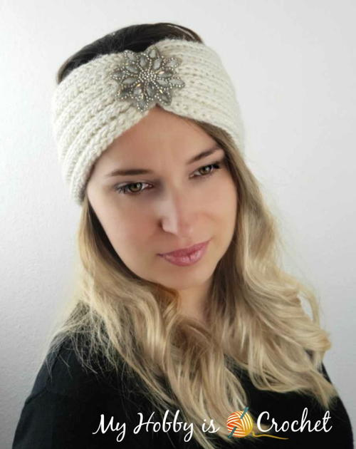 Rhinestone Ear Warmer / Headband