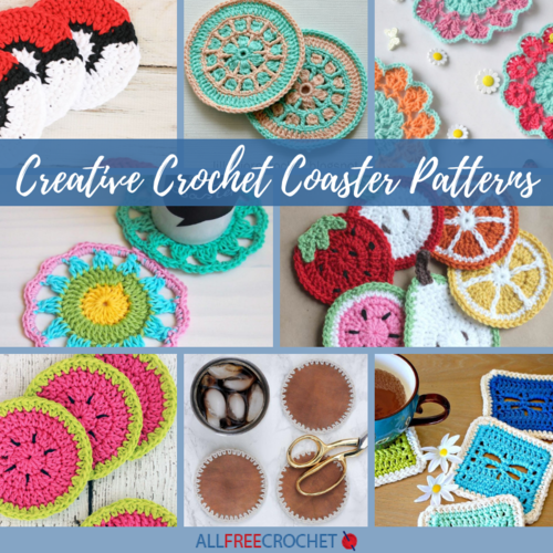 16 Creative Crochet Coaster Patterns