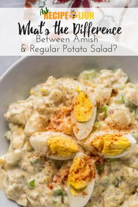Difference Between Amish & Regular Potato Salad