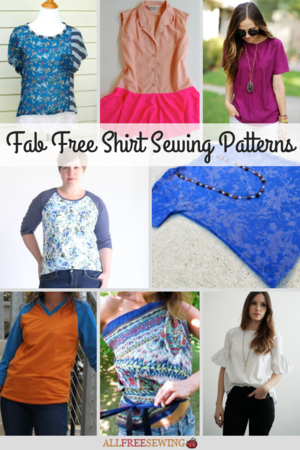 33 Fab Free Shirt Sewing Patterns