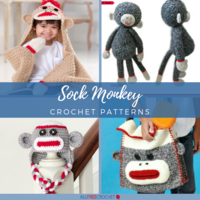 20+ Sock Monkey Crochet Patterns