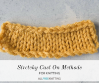 6 Stretchy Cast On Methods