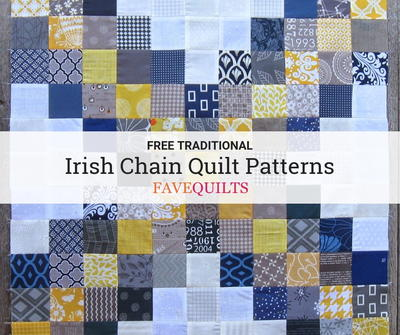 Traditional Irish Chain Quilt Patterns