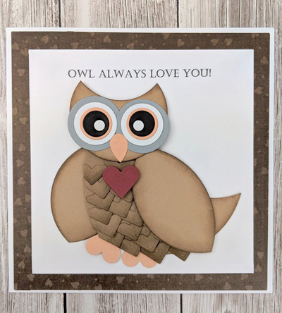 Owl Always Love You DIY Valentine Card