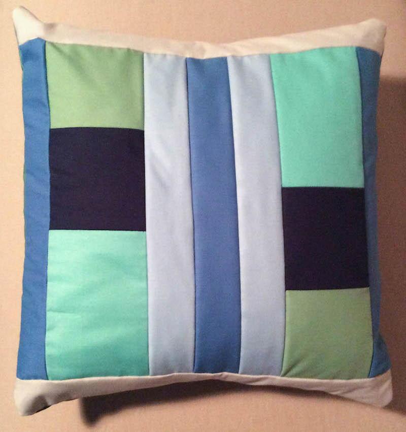 Modern Quilt Pillow