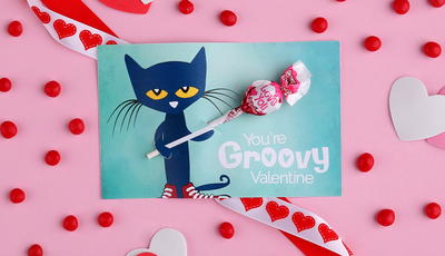 Pop Culture Valentine's Day Lollipop Holders
