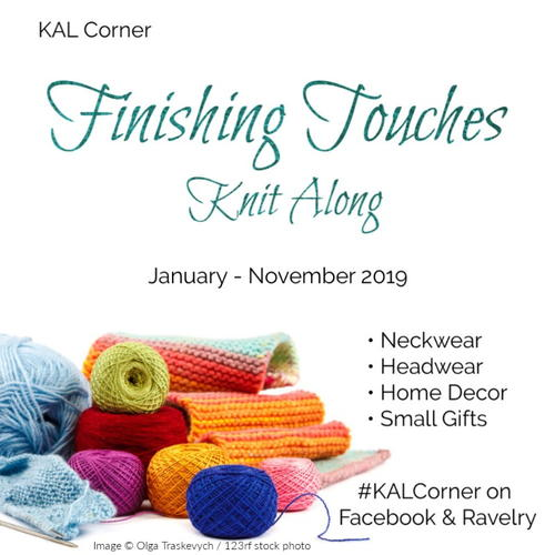 Finishing Touches Knit Along