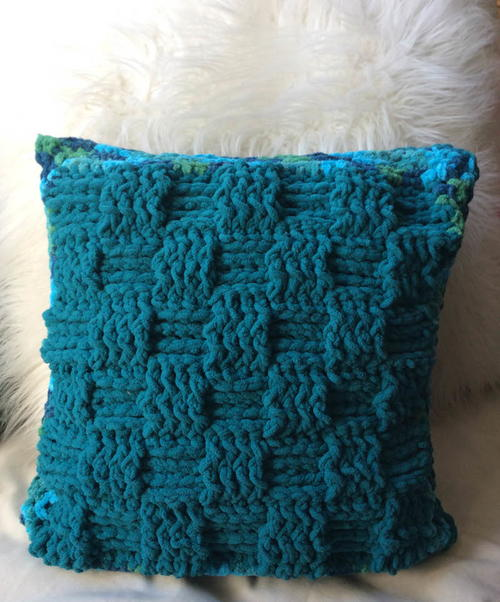 Twin Textures Pillow