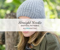 26 Straight Needle Knitting Patterns You Need