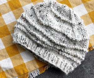 Winter's Wave Hat Pattern