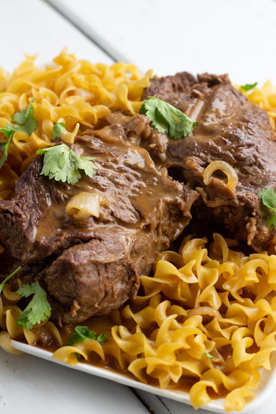 Old Fashioned Beef and Noodles