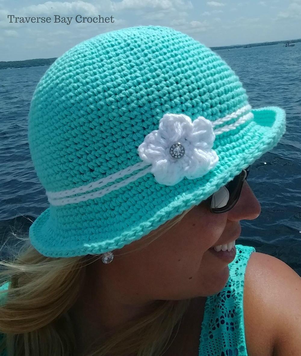 Crochet Elegant Sunhat