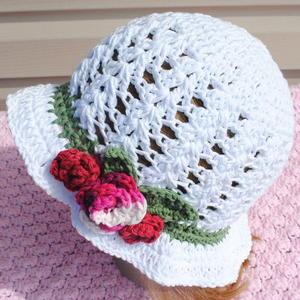 7c4856c094b 41 Crochet Summer Hat Patterns  Easy Crochet Hats