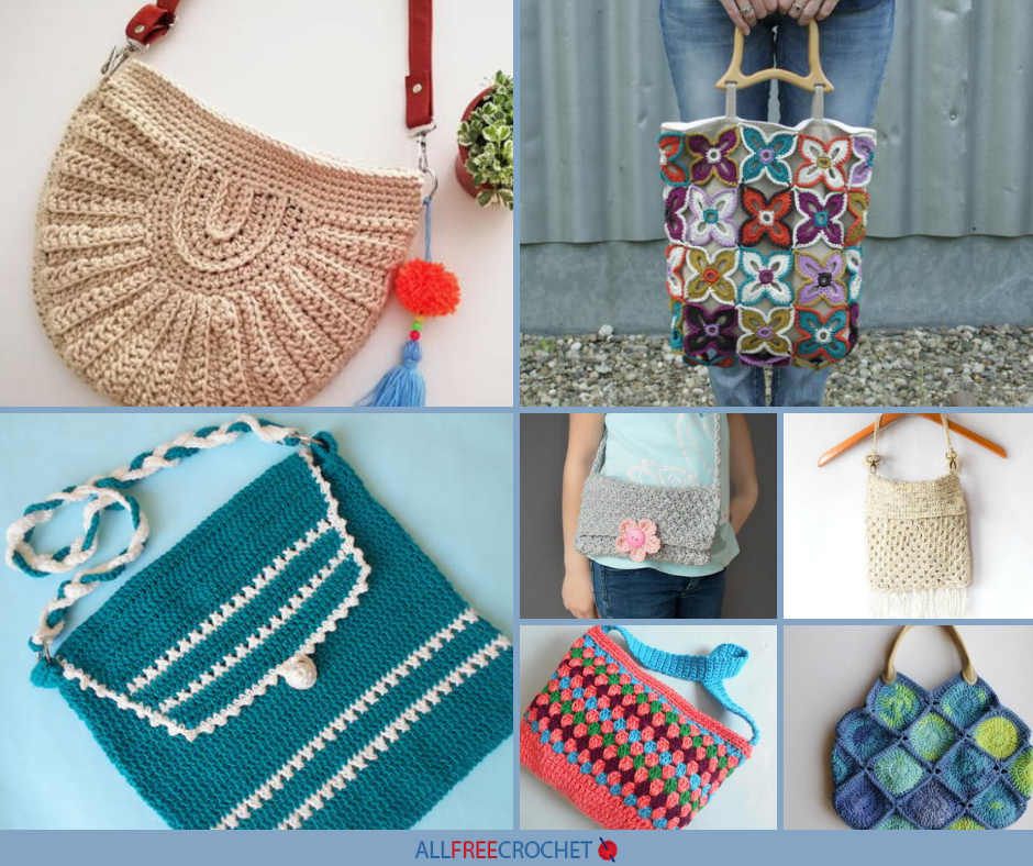 24 Crochet Purse Patterns Prettiest Ever Allfreecrochetcom