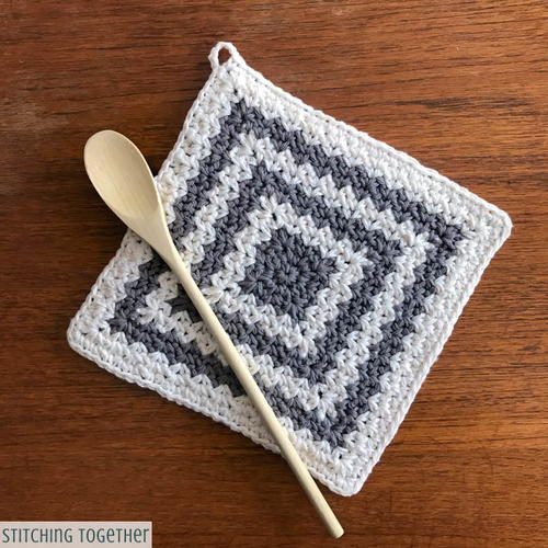 Country Crochet Hot Pad