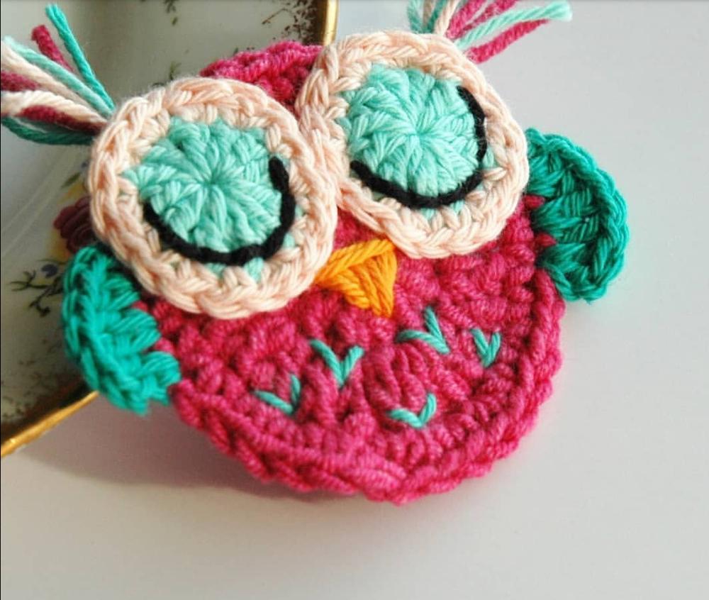 Crochet Owl Motif