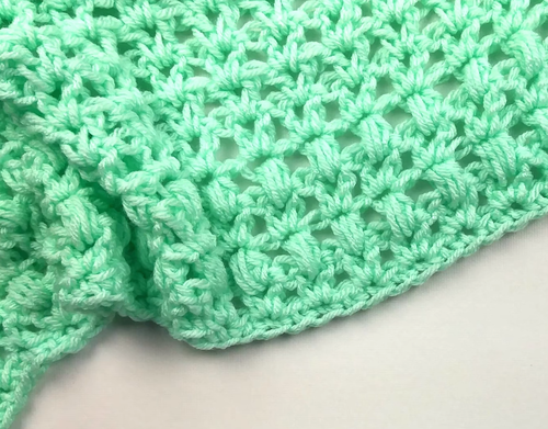 One Skein Mini Crochet Blanket Pattern