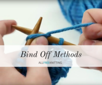 6 Bind Off Methods