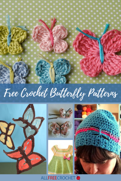35 Crochet Butterfly Patterns