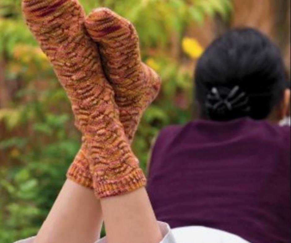 1f653258f 21 Sock Knitting Patterns (Free) | AllFreeKnitting.com