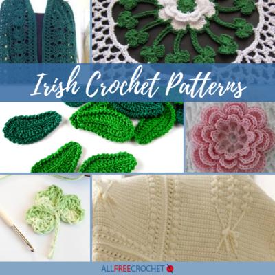 a39138ee7a1ba 20+ Irish Crochet Patterns   AllFreeCrochet.com