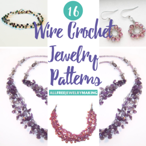 16 Free Wire Crochet Jewelry Patterns