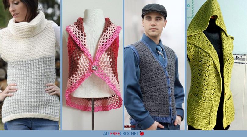 cbc3031f3 48 Crochet Vest Patterns