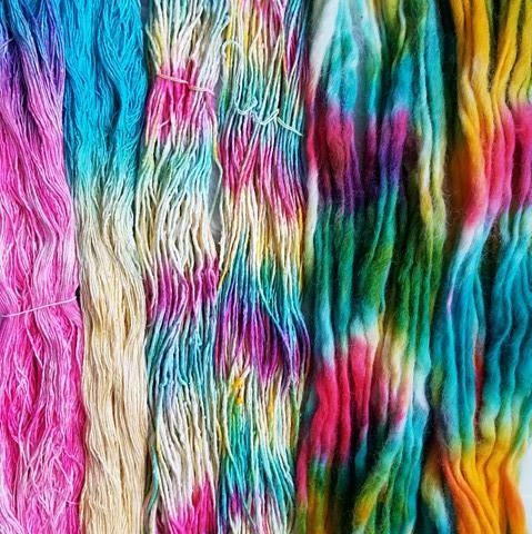 How to Dye Yarn with Icing Colors
